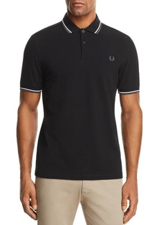 Fred Perry Tipped Piqu� Slim Fit Polo Shirt