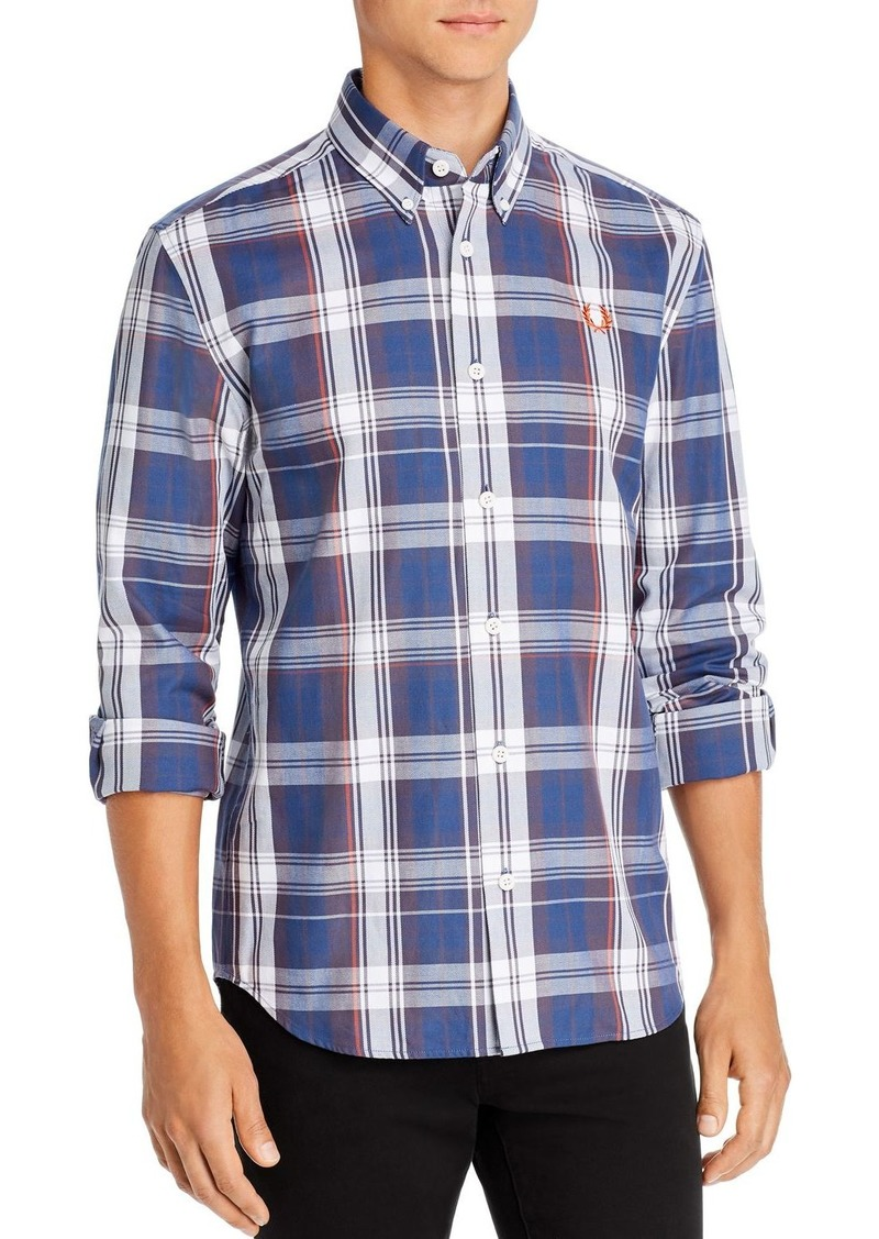 Fred Perry Twill Check Classic Fit Shirt