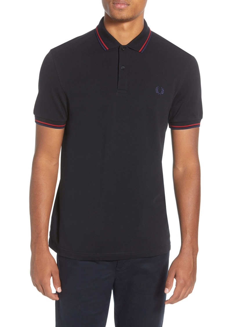 Fred Perry Twin Tipped Extra Slim Fit Piqué Polo