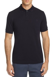 Fred Perry Tonal Twin-Tipped Slim Fit Polo Shirt