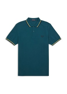 Fred Perry Twin Tipped Slim Fit Polo