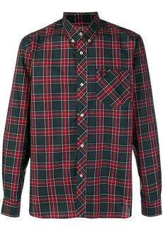 Fred Perry x Art Comes First polo shirt tartan shirt