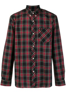 Fred Perry x Art Comes First tartan shirt
