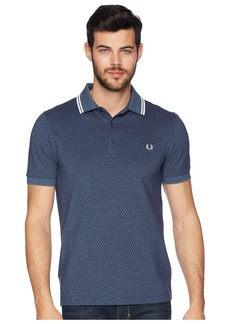 Fred Perry Geometric Print Pique Shirt
