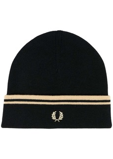 Fred Perry knitted beanie hat