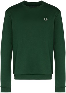 Fred Perry Laurel motif print sweatshirt