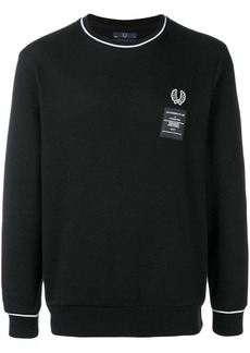 Fred Perry logo patch sweater