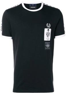 Fred Perry logo print T-shirt