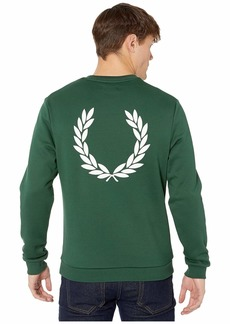 Fred Perry Printed Laurel Wreath Sweatshirt