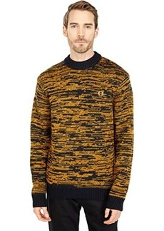 Fred Perry Space Dye Crew Neck Jumper