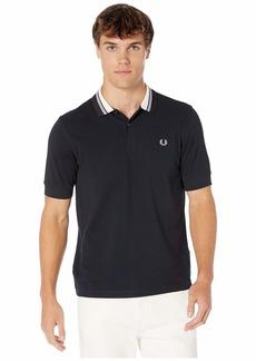 Fred Perry Stripe Collar Pique Shirt