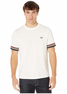 Fred Perry Stripe Cuff T-Shirt