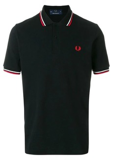 Fred Perry striped trim polo shirt