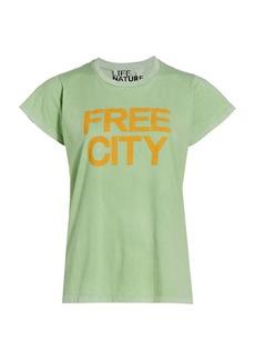 Free City Neighborhood Logo Tee