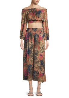 Free People 2-Piece Top & Pants Sun Set