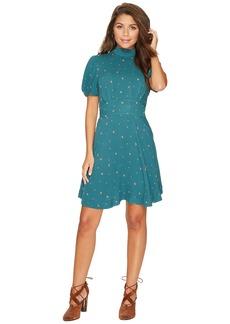 Free People Abbie Printed Mini Dress