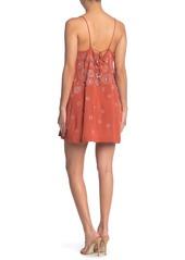Free People Azealia Sequin & Rhinestone Embellished Slip Dress