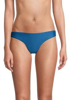 Free People Back-Ruched Bikini Bottom