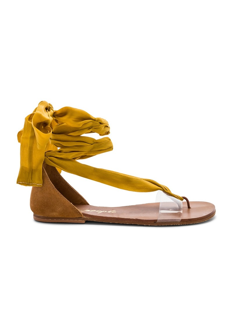 Free People Barcelona Wrap Sandal