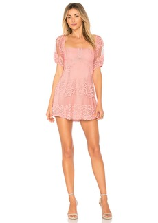 Be Your Baby Lace Mini Dress