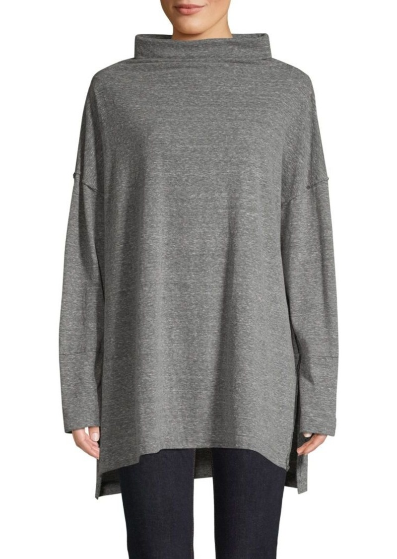 Free People Bella Vista Thermal Cowlneck Sweater