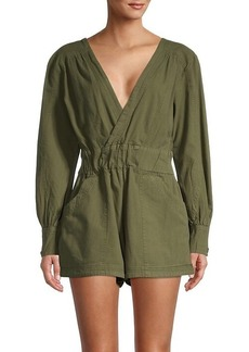 Free People Beside You Cotton Shortall