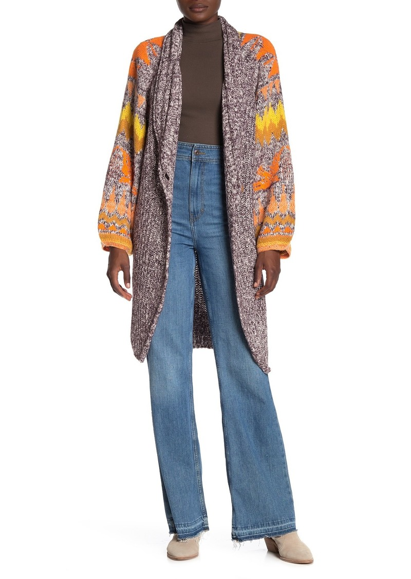 Free People Birds of a Feather Long Cardigan