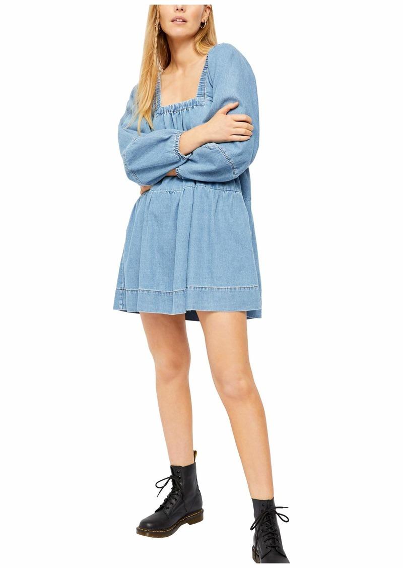 Blue Jean Babydoll Dress