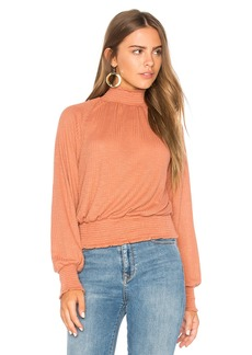 Free People Boulevard Ruffle Top