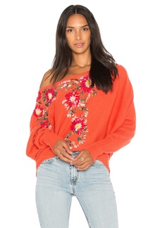 Free People Bouquet Pullover Sweater