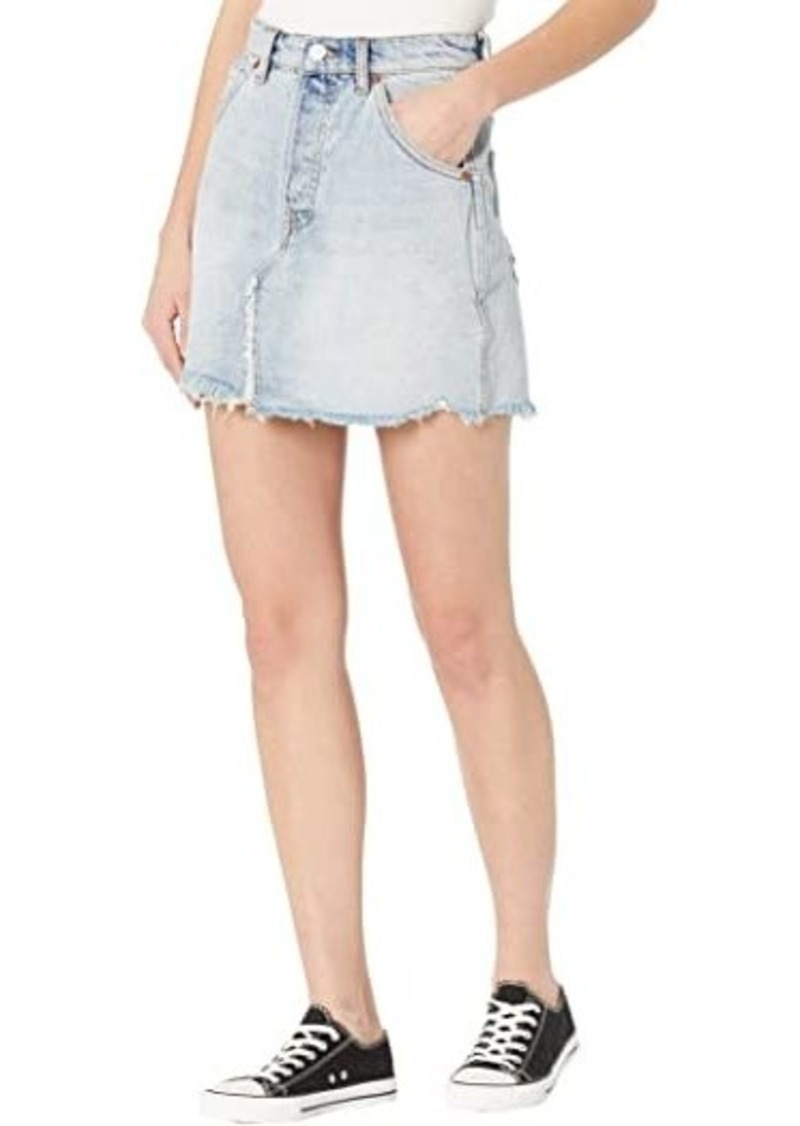 Free People Brea Cutoffs Skirt