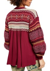 Free People Cabin Fever Sweater Thermal Top