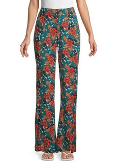 Free People Can't Take My Eyes Off Floral Pants
