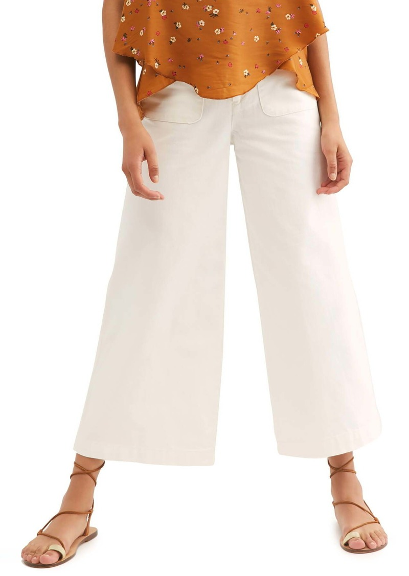 Free People Colette Wide Leg Culottes
