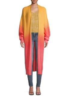 Free People Come Together Open-Front Knit Cardigan