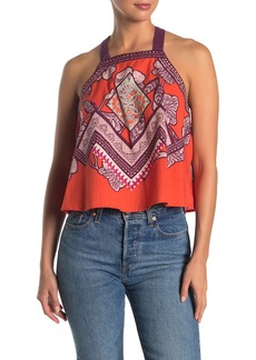 Free People Cool Cabana Tie Back Tank