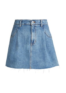 Free People Cosmico Denim Mini Skirt