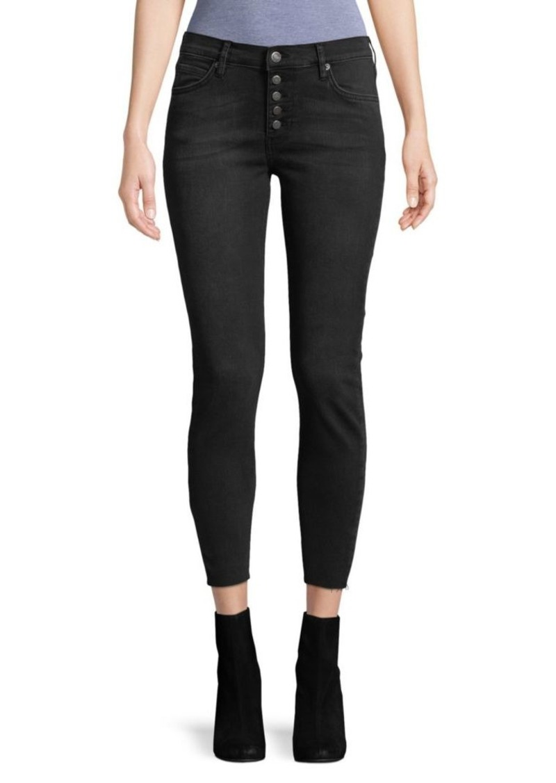 Free People Cropped High-Rise Skinny Jeans