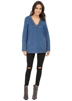 Free People Dreaming of Denim Tunic