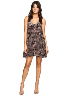 Free People Ellie Velvet Mini Dress