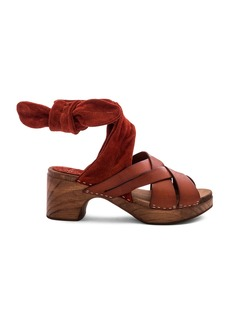 Free People Emmy Wrap Clog