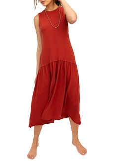 Endless Summer by Free People Drop Waist Midi Dress