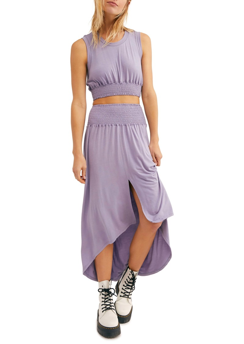 Endless Summer by Free People Morningside Crop Top & High/Low Skirt