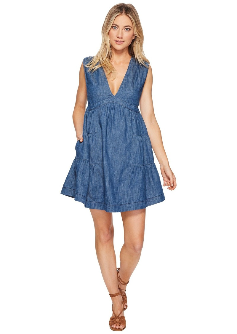 fd3c49f1b754 On Sale today! Free People Esme Denim Mini Dress