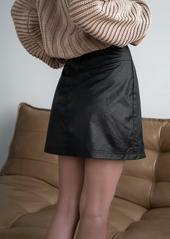 Free People Fake Out Wrap Skirt