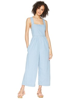 Free People Fara Jumpsuit - Indigo