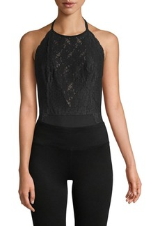 Free People Floral Lace Bodysuit