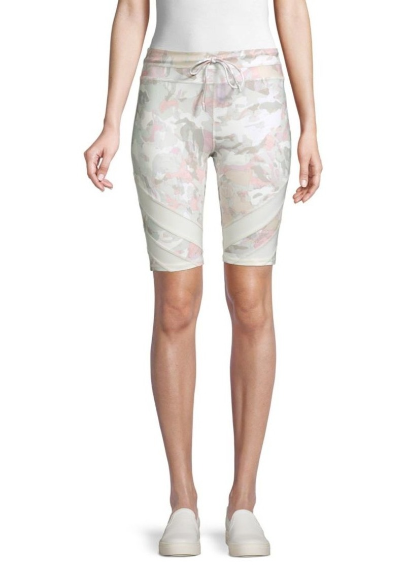 Free People Floral-Print Bike Shorts
