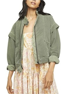 Free People Florence Bomber Jacket