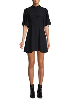 Free People Be My Baby Solid Mini Dress